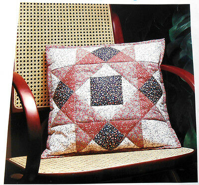 Dunlecraft Quilted Patchwork Cushion Cover Cotton Kit Easy Sewing Instructions