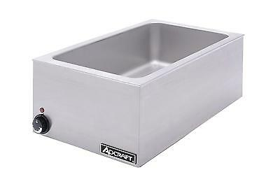 Adcraft FW-1500W/C Countertop 1500W Full Size Food Warmer