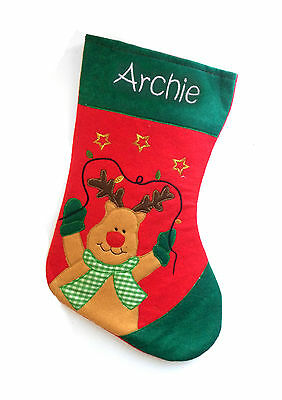 Stocking-Personalised-Embroidered-Gift Christmas-Stocking