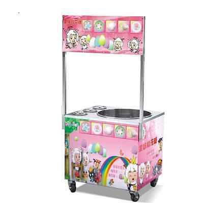 Commercial Cotton Candy Maker Machine, Gas Operated Cotton Candy Maker Stand