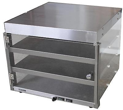 "Adcraft PW-20 Commercial Countertop Heated Shelf 20"" Pizza Merchandiser"