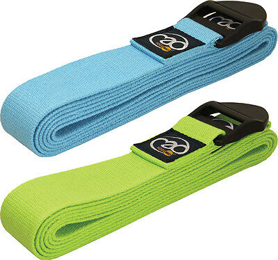 Fitness Yoga-Mad Exercise & Workout Pilates Training Belt 2.5m Long With PE Bag