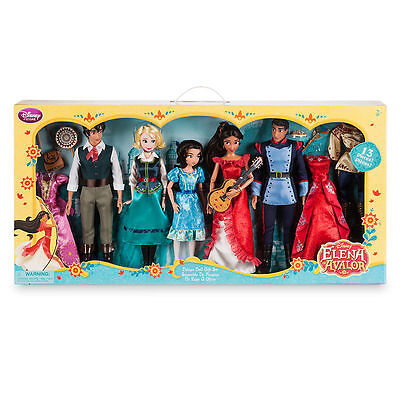 Disney Store Elena of Avalor Deluxe Classic Doll Gift Set