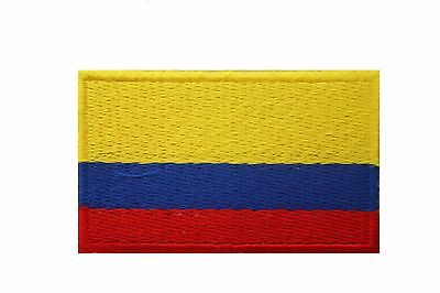 Colombia Country Flag Iron-On Patch Crest Badge ..size : 1.5 X 2.5 Inch ..new