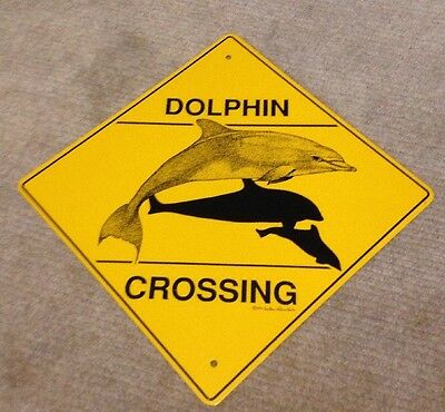 Dolphin Crossing Crossing Sign