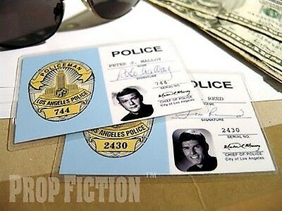 Adam-12 - Pete Malloy & Jim Reed LAPD Police ID Cards
