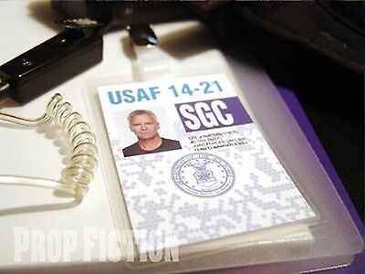 Stargate SG-1 - SGC Security Pass Clip-on ID Card