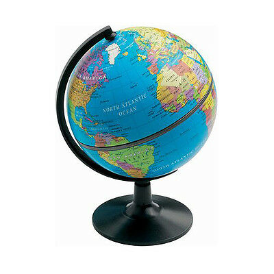 World Globes For Children Rotating Earth Map Stand Geography Educational 28cm