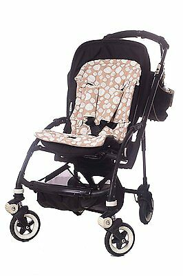 Mizronit Stroller Seat Liner, Baby Stroller Cushion Pad, Covers fully the seat,