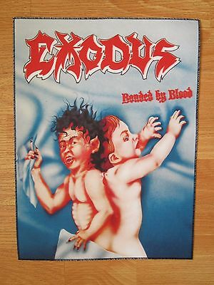 EXODUS Bonded By Blood BACK PATCH printed NEW thrash metal