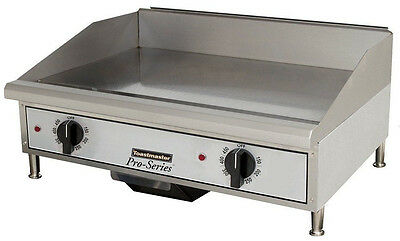 "Toastmaster TMGE24 Countertop 24"" Thermostatic Control Electric Griddle"