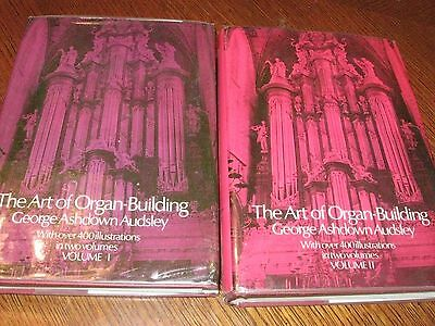The Art Of Organ Building Books Volumes I & Ii With Over 400 Illustrations