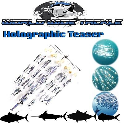 """Wwt Holographic Offshore Game Fish Teaser """"bait Ball"""""""
