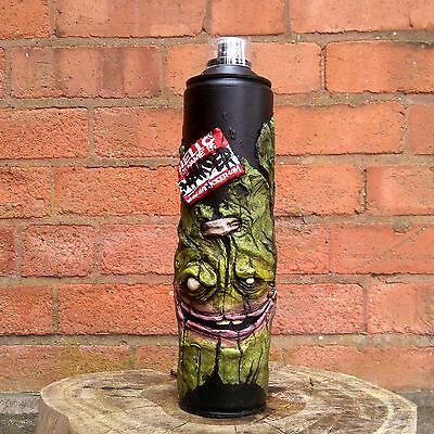 LARGE GRAFFITI ART SCULPTURE SPRAY CAN by Hoakser 600ML HELLO MY NAME IS MODEL