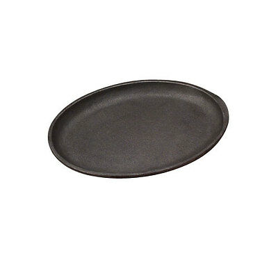 "Tomlinson Industries JFP-18, 13""x10"" Oval Skillets Cast Iron  w/o Handle 6/case"