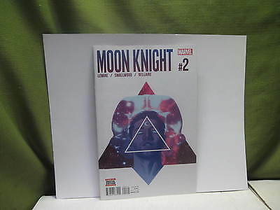 Moon Knight #2 (2016 Series) Welcome to New Egypt! Jeff Lemire! 1st Printing!