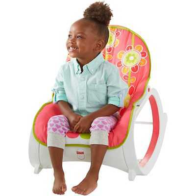 Fisher Price Infant-To-Toddler Rocker, Floral Confetti - ORIGINAL Top Quality