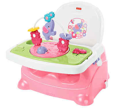 Fisher-Price Pretty in Pink Elephant Booster - ORIGINAL Top Quality - Free Shipp