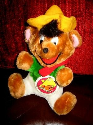 1980 Vintage MWT Speedy Gonzales Warner Bros WB Looney Tunes Plush Mighty Star