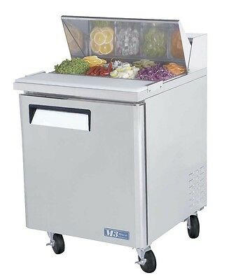 Turbo Air MST-28 Sandwich Salad Prep Cooler Cold Air Compartment8 Pans 28""