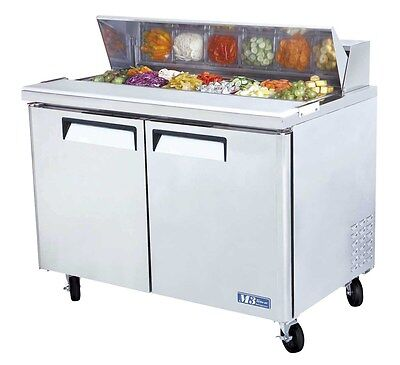 Turbo Air MST-48 Sandwich Salad Prep Cooler Holds 12 Pans 48""