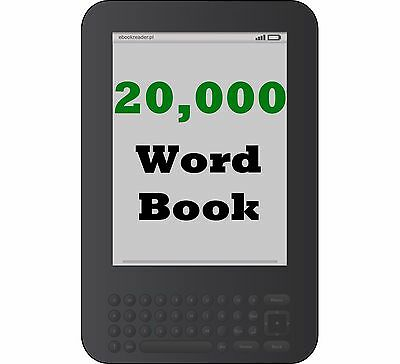 Digital Book Writing Services - Get a 20,000 Word Book on Any Topic - Kindle