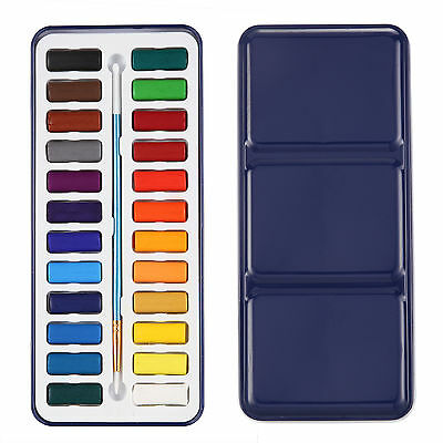 Artist Solid Watercolor Paint Set