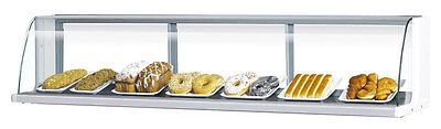 "Turbo Air Low Profile 28"" Horizontal High Top Display Case for TOM-30L"