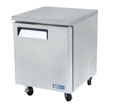 "Turbo Air 28"" Undercounter Stainless 6.5 Cu.ft Freezer Muf-28"