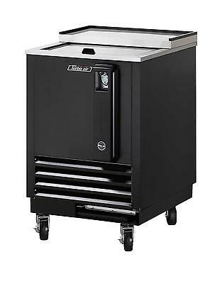 "24"" Bottle Cooler Black Vinyl Exterior TBC-24SB"