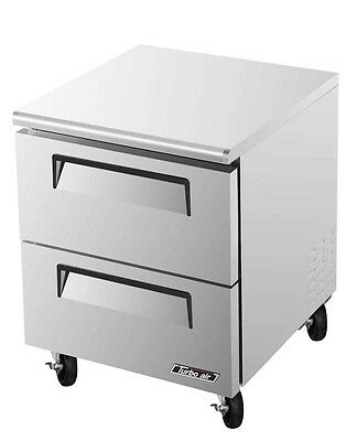 """Turbo Air 28"""" Commercial 7 Cu.Ft Undercounter Cooler TUR-28SD-D2"""
