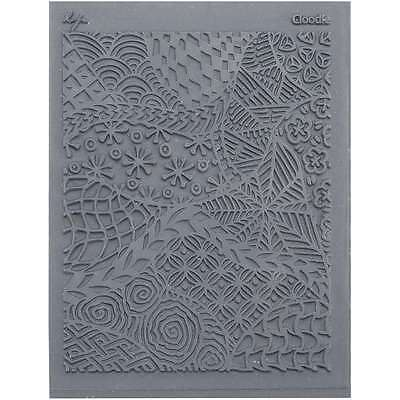 Lisa Pavelka Individual Texture Stamp 4.25 Inch X 5.5 Inch 1/Pkg-C 038562275277