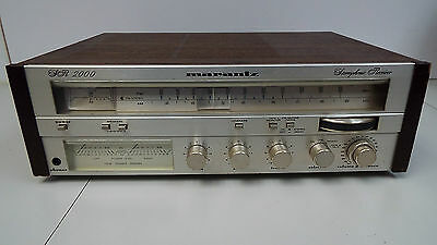 Marantz model SR 2000 Stereo Stereophonic Receiver with Wood Case (T12)