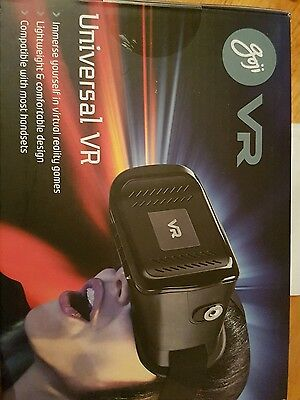 Goji Universal VR Virtual Reality Headset - Brand New Sealed in Box