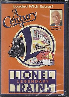 A Century of LIONEL TRAINS: spectacular, two-hour PBS Special on DVD