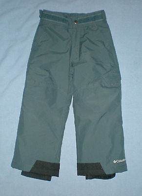 Mint Boys Columbia Ice Slope Omni-Shield Insulated Snow Pant Xxs Fits Size 4 / 5