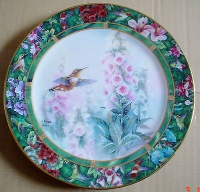 W S George Collectors Plate THE RUFOUS HUMMINGBIRD