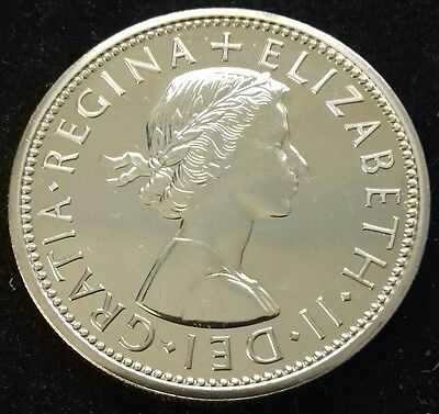 PROOF 1970 TWO SHILLINGS/FLORIN. LAST YEAR OF £sd