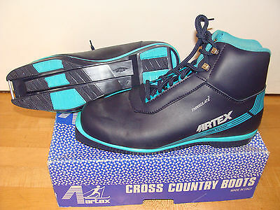 Vintage NOS Artex Womens Size 41 NNN System Thinsulate Cross Country Ski  Boots