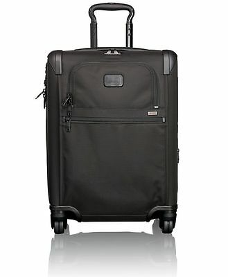 Tumi Alpha 2 Continental Expandable 4 Wheel Carry-On Case - Black