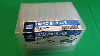 Disco New 10Pc Disco Diamond Nbc-Zh 2030 Se Wafer Dicing Blade