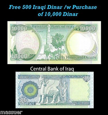 500 Iraqi Dinar A Free 500 Vietname Dong With Dinar Purchase 28 Sets Left