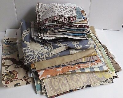 Upholstery Fabric Samples Maxwell Telafina 150 pcs Mixed Sizes Lot Quilt Making