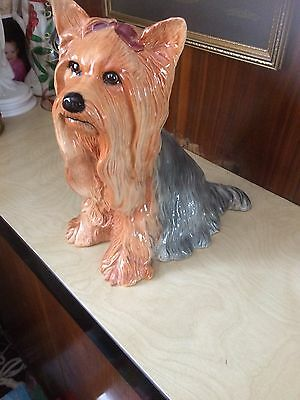 Beswick Fireside Yorkshire Terrier In Sitting Position Ex Con