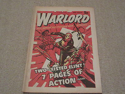 WARLORD comic No 5, Oct 26th 1974, good condition