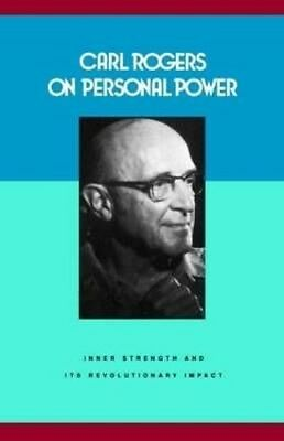 Carl Rogers on Personal Power by Carl R. Rogers Paperback Book