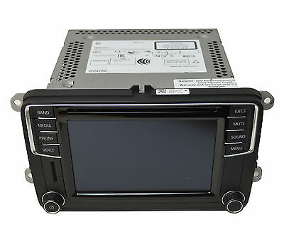 OEM 2016 VW Volkswagen Jetta Radio Navigation Unit AMFM CD Disc Player 5C0035200