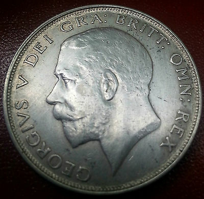 1925 Half Crown. Scarce In Higher Grades. Low Mintage. Offers Invited.