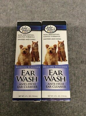 Four Paws Healing Remedies Ear Wash Anti-Itch Ear Cleaner
