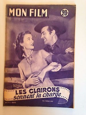 Mon Film N°312 1952 Les Clairons Sonnent La Charge / Ray Milland - Helena Carter